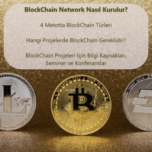 BlockChain Network Nasıl Kurulur? 4 Metotta BlockChain Türleri